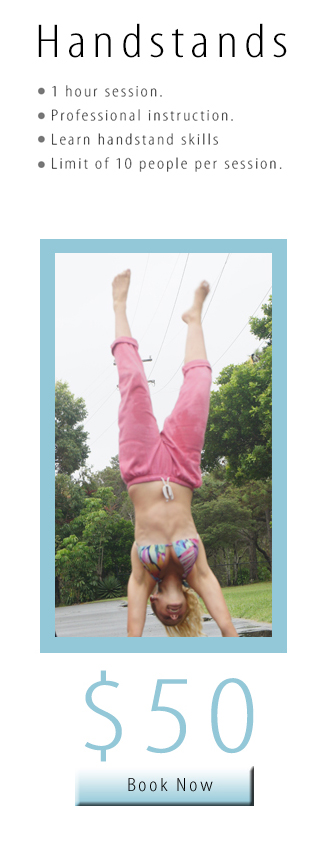 Trapeze Beach Camp Handstands
